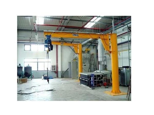悬臂吊产品特点以及小型悬臂吊吊钩的保养常识
