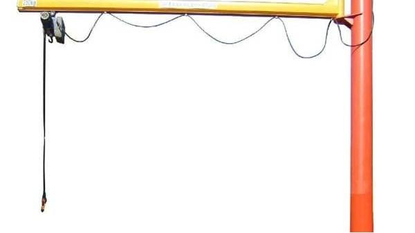 分析悬臂吊的特点以及对配件的维护